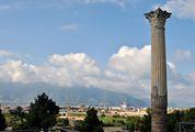 Помпеи - огромная территория / Италия