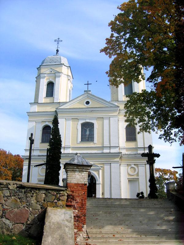 Церковь в Молетае, Литва / Фото из Литвы