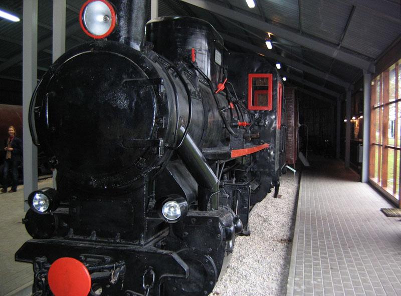 Чешский паровоз в Музее узкоколейной железной дороги, Аникщяй / Фото из Литвы