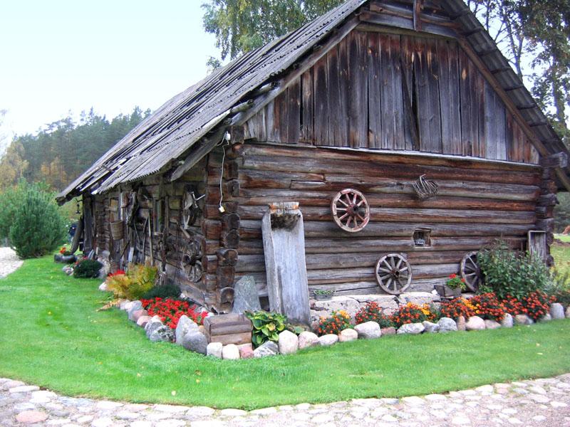 "Старый амбар, усадьба ""Между липами"" / Фото из Литвы"