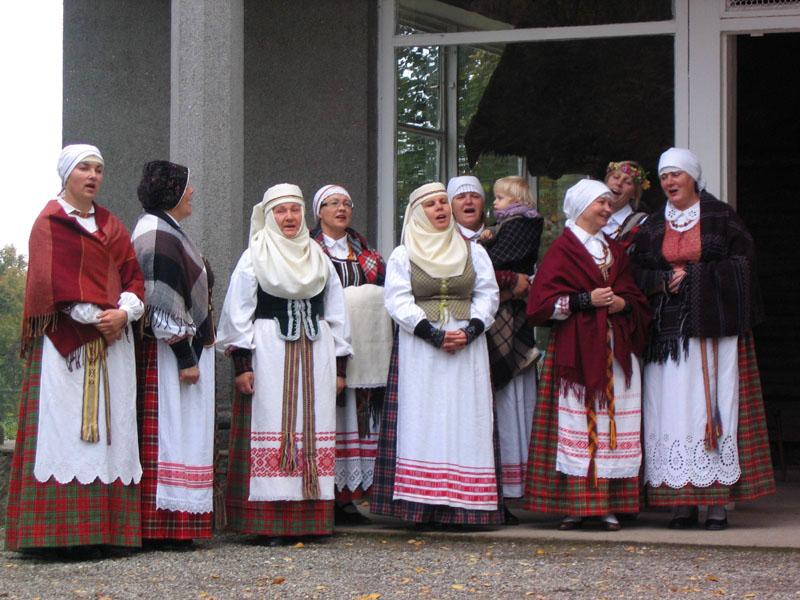 Фольклорный ансамбль Аникщяя / Фото из Литвы