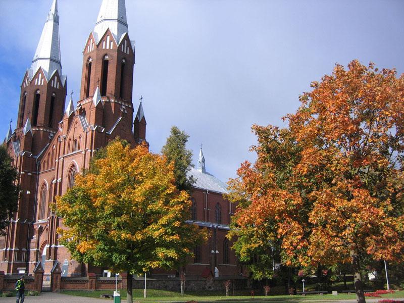 Костел Святого Матфея, Аникщяй / Фото из Литвы