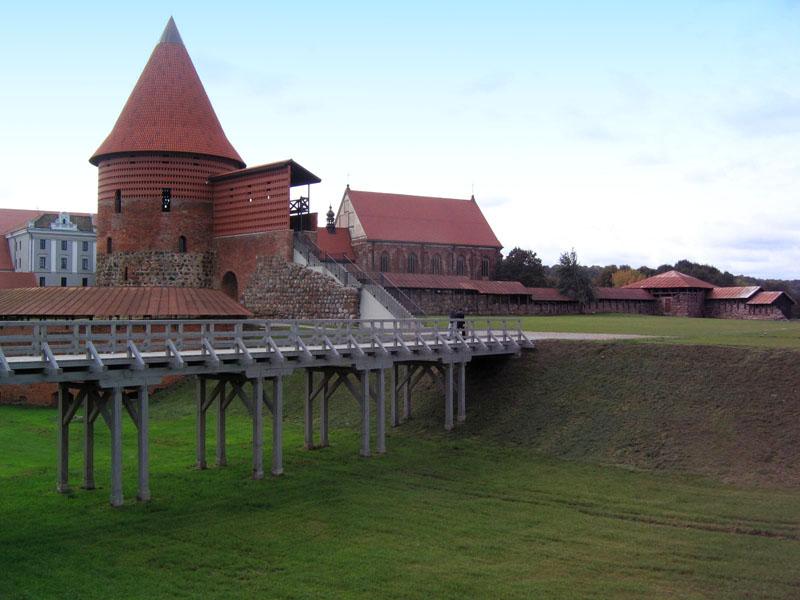 Каунасский замок / Фото из Литвы