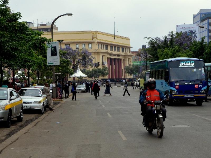 На улице в Найроби, Кения / Фото из Кении
