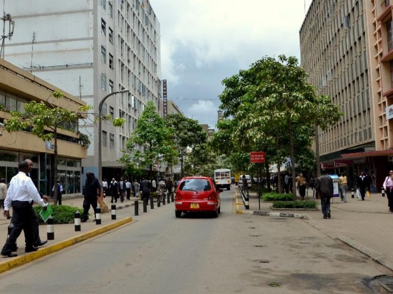 Проезжая часть в Найроби / Фото из Кении