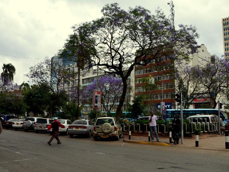 Проспект в Найроби / Фото из Кении
