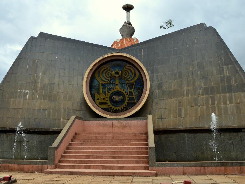 Монумент первому президенту Кении Джомо Кеньятта в парке Uhuru, Найроби / Фото из Кении