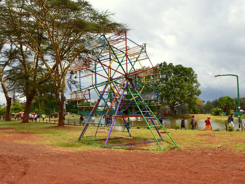 В городском парке Найроби, Кения / Фото из Кении