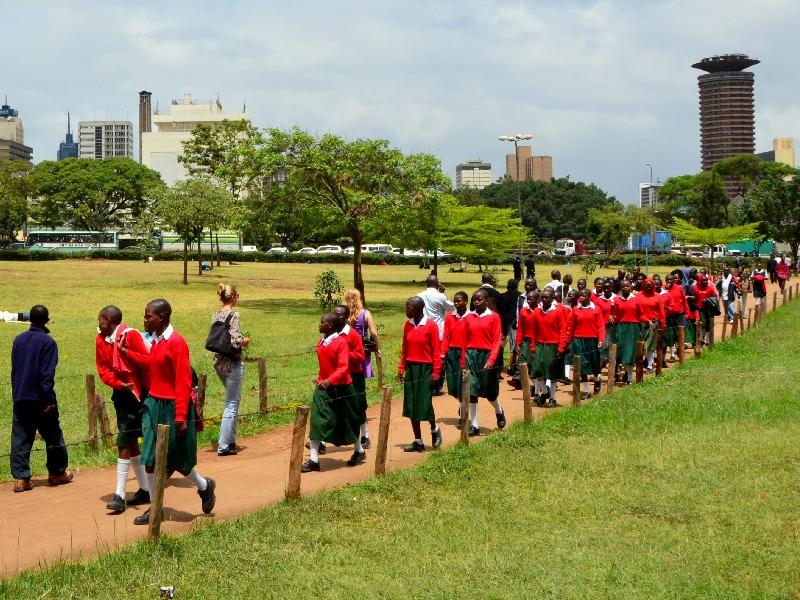Городской парк в Найроби / Фото из Кении