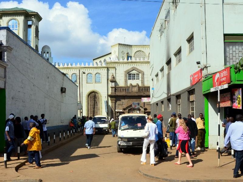 В центральной части Найроби / Фото из Кении