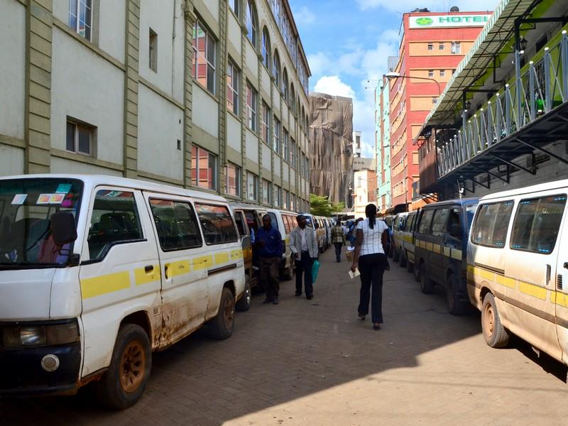 Переулок в Найроби, Кения / Фото из Кении