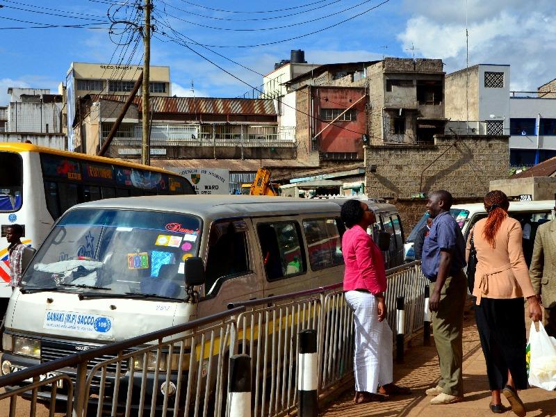 Жители Найроби / Фото из Кении