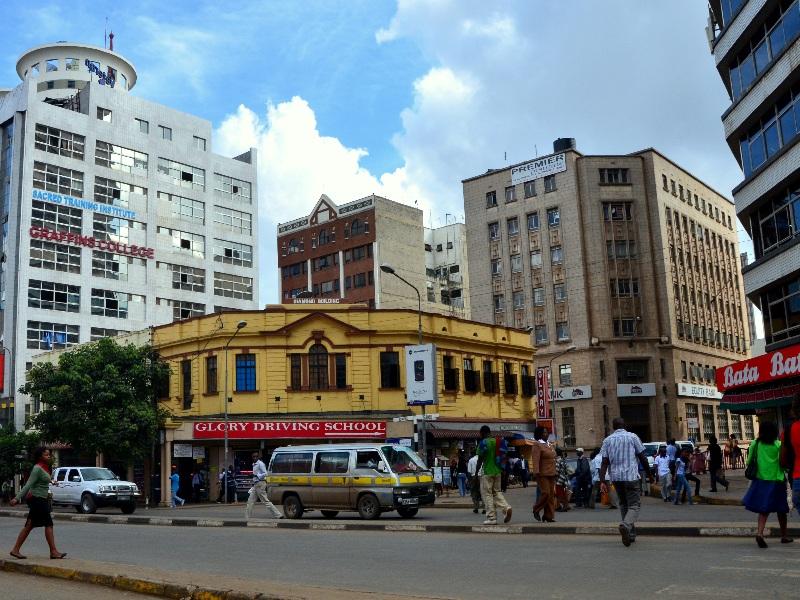 Старинный дом в Найроби / Фото из Кении