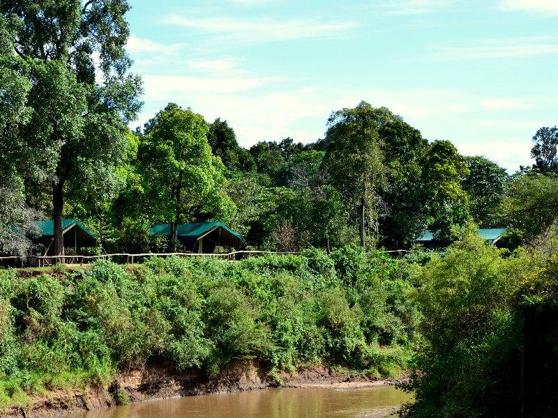 Кемпинг Governors' Camp в Кении / Фото из Кении