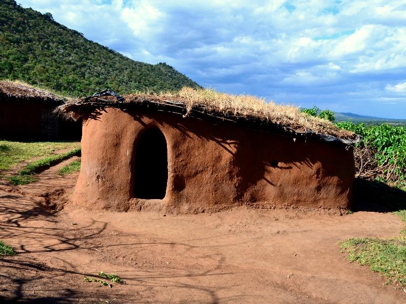 Дом масаев, Кения / Фото из Кении