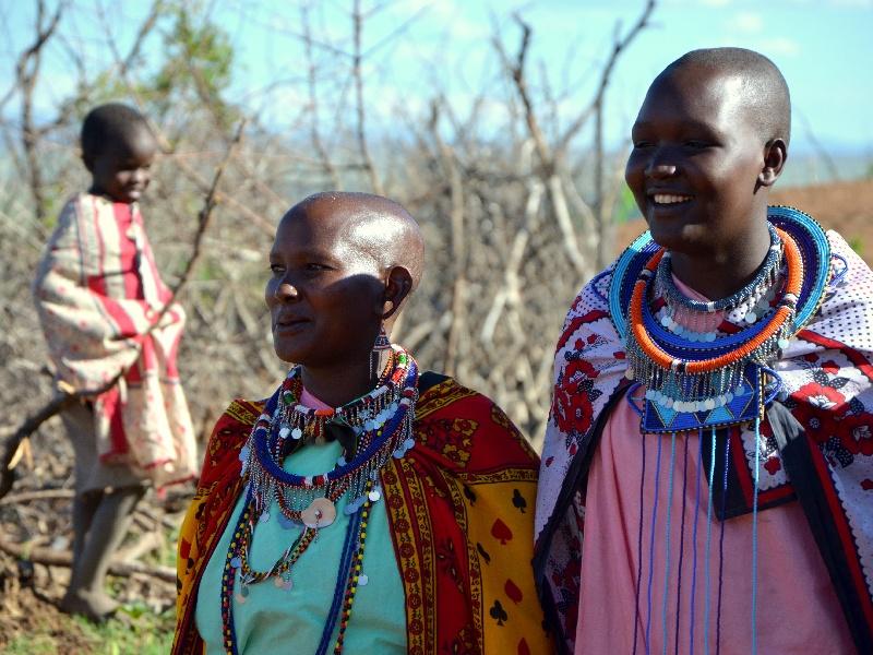 Женщины из племени масаев, Кения / Фото из Кении