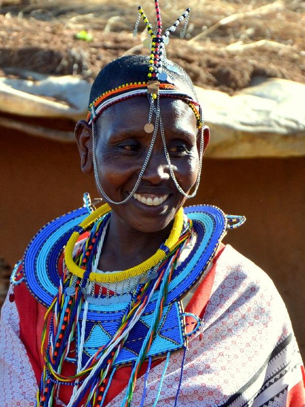 Представитель племени масаев, Кения / Фото из Кении