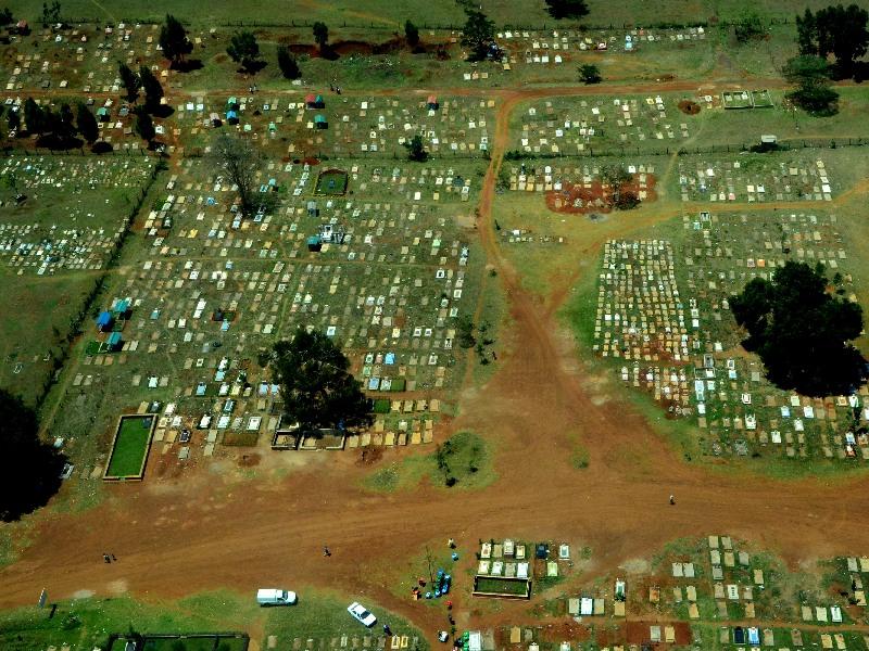 Кладбище в Найроби, Кения / Фото из Кении