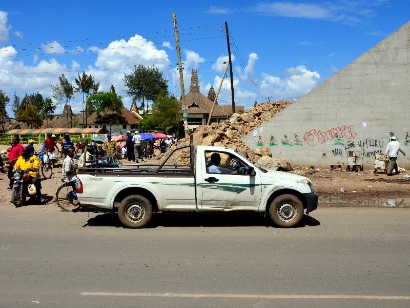 Машина, Кения / Фото из Кении