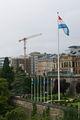 Флагшток и флаг / Люксембург