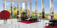 Холл отеля The Oberoi, Gurgaon // oberoihotels.com