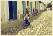 Мощеные улицы / Куба