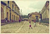Дети на улице / Куба
