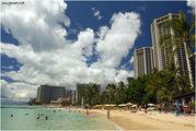 Пляж Waikiki / США