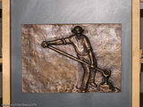 Сталевар - один из символов / Люксембург