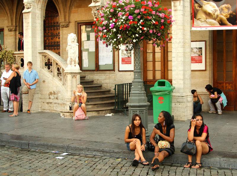 Посетители Бельгийского пивного уик-энда / Фото из Бельгии