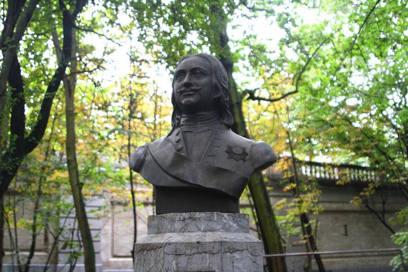 Памятник Петру Первому в Брюсселе / Фото из Бельгии