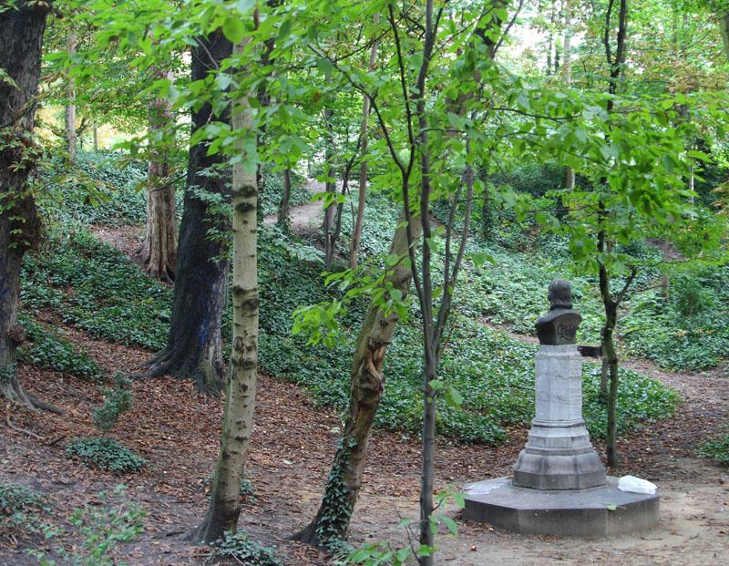 Памятник Петру Первому в парке Брюсселя / Фото из Бельгии
