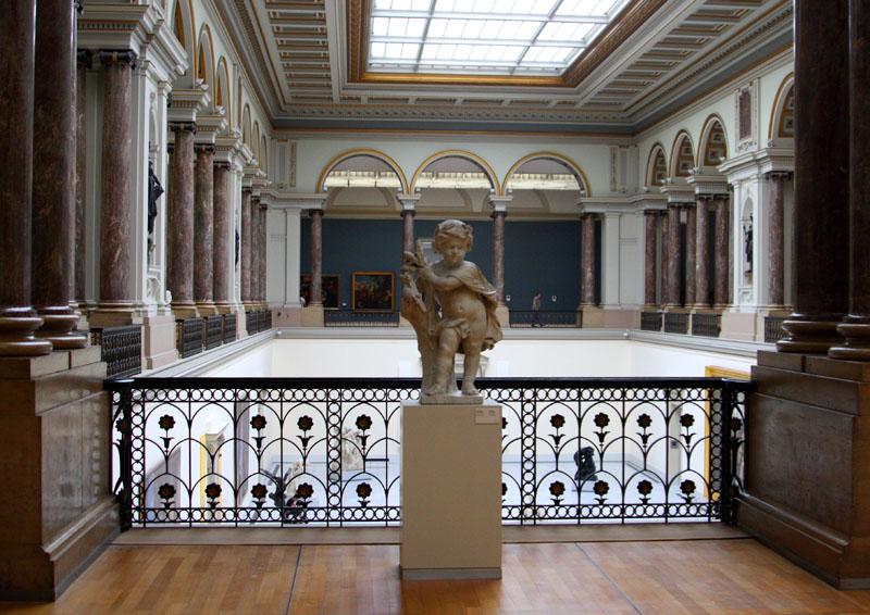 В Королевском музее изящных искусств / Фото из Бельгии