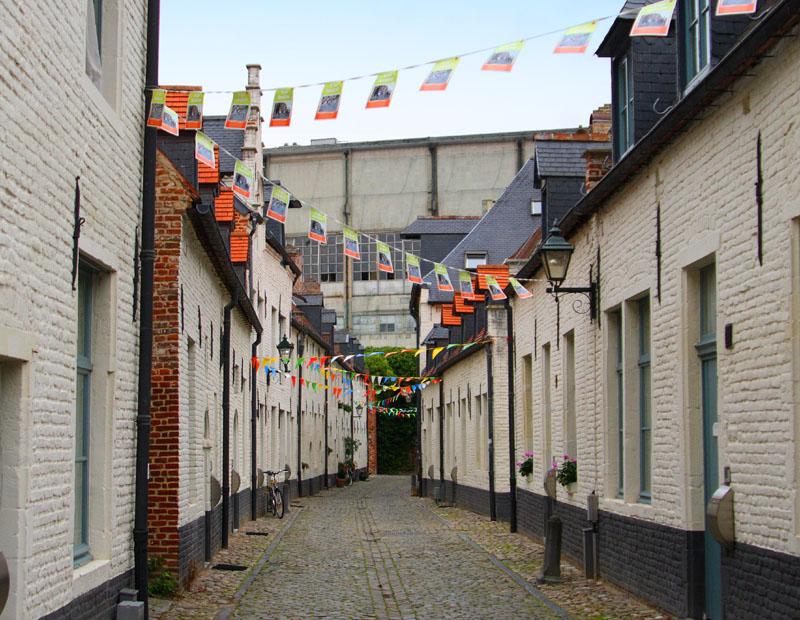 Малый бегинаж в Лёвене / Фото из Бельгии