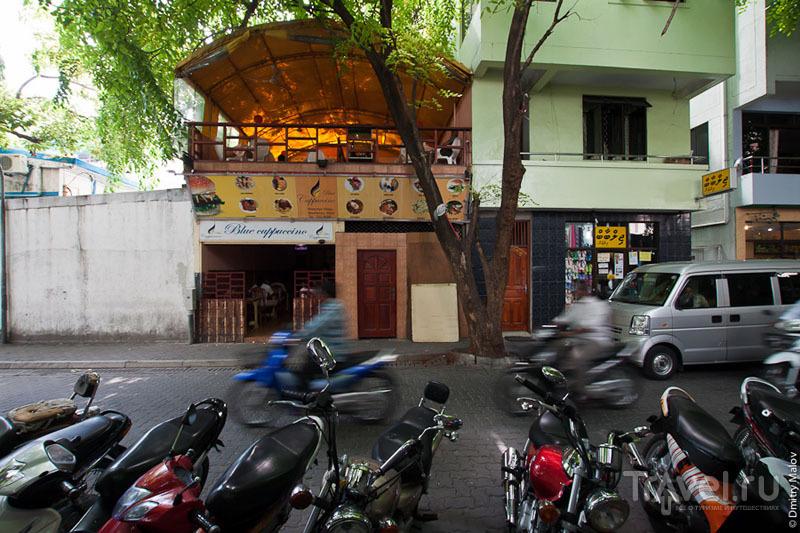 Кафе на Мальдивах / Фото с Мальдив