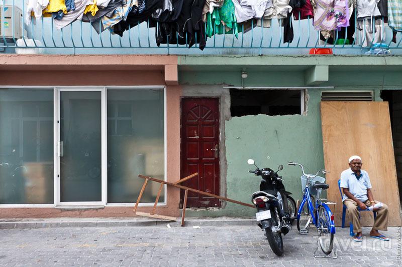 Житель города Мале, Мальдивы / Фото с Мальдив