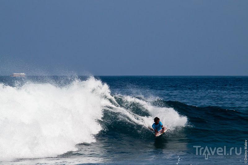 Серфинг на Мальдивах / Фото с Мальдив