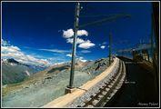 Подъем на поезде / Швейцария