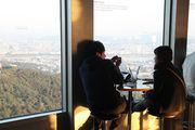 Столик в кафе / Южная Корея