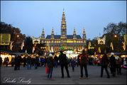Площадь перед ратушей / Австрия