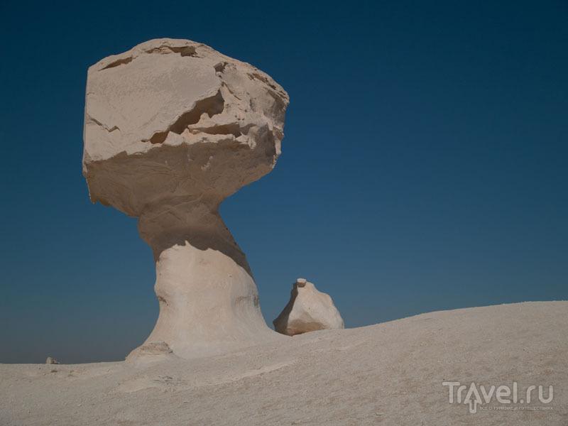 """""""Гриб"""" в Белой пустыне / Египет"""