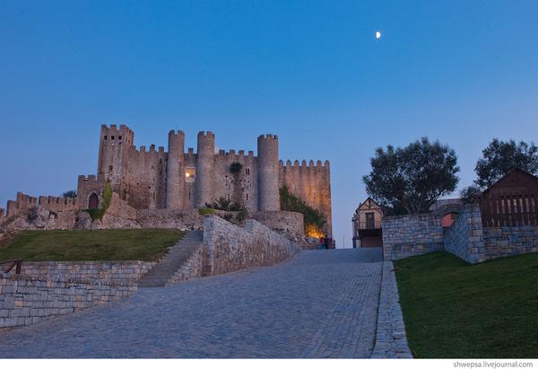 Замок святого Георгия в Лиссабоне Mylisbon