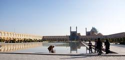 Вид на площадь / Иран