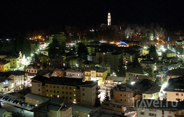 Кавалезе ночью
