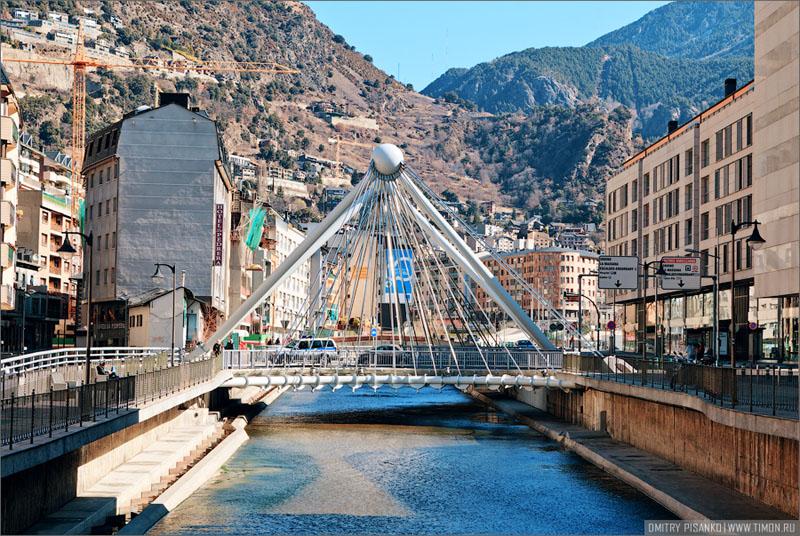 Мост в Андорра-ла-Велья / Фото из Андорры