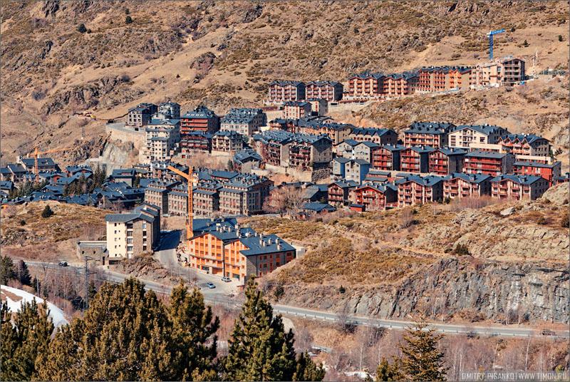 Вид на городок Эль-Тартэ / Фото из Андорры