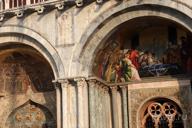 Фрески на венецианской церкви / Фото из Италии