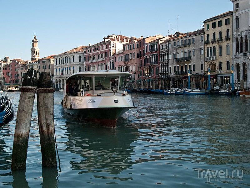 Трамвайчик на Гранд-Канале / Фото из Италии