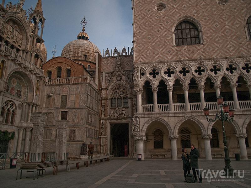 Церковь Святого Марка и Дворец дожей / Фото из Италии