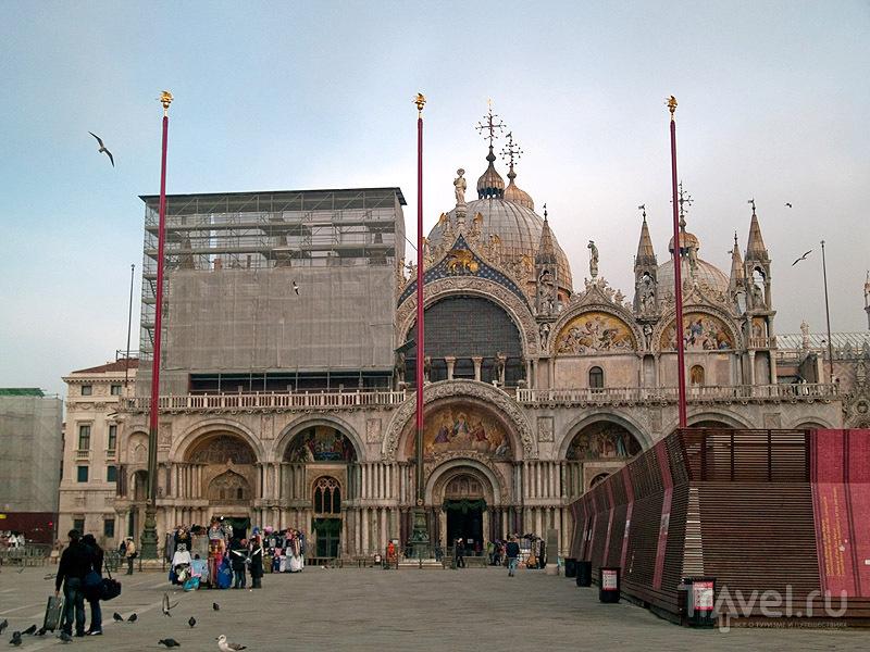 Парадный вход в церковь Святого Марка / Фото из Италии